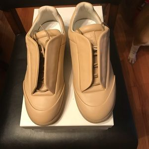NEW Maison Margiela Future Leather Low Top Sneaker